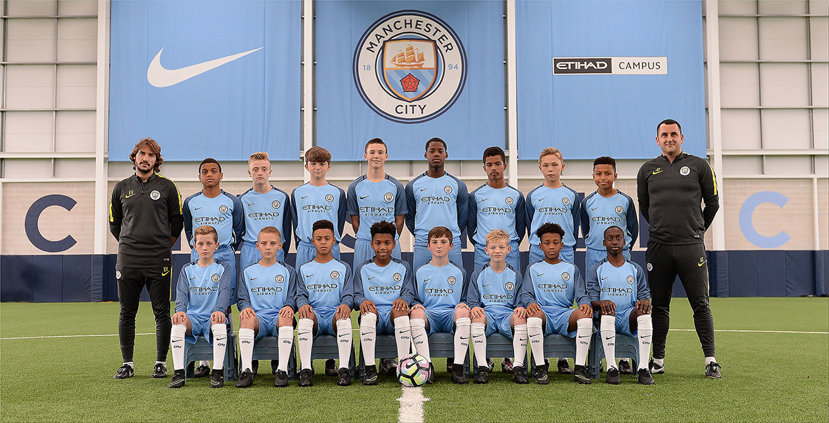 Manchester City Under 13s 16x12 team photo EMAIL