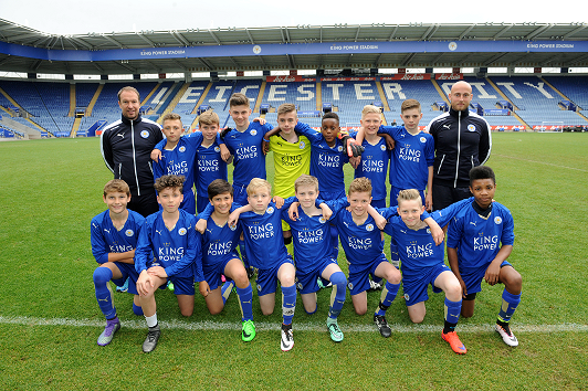 teamfoto leicester city 2017