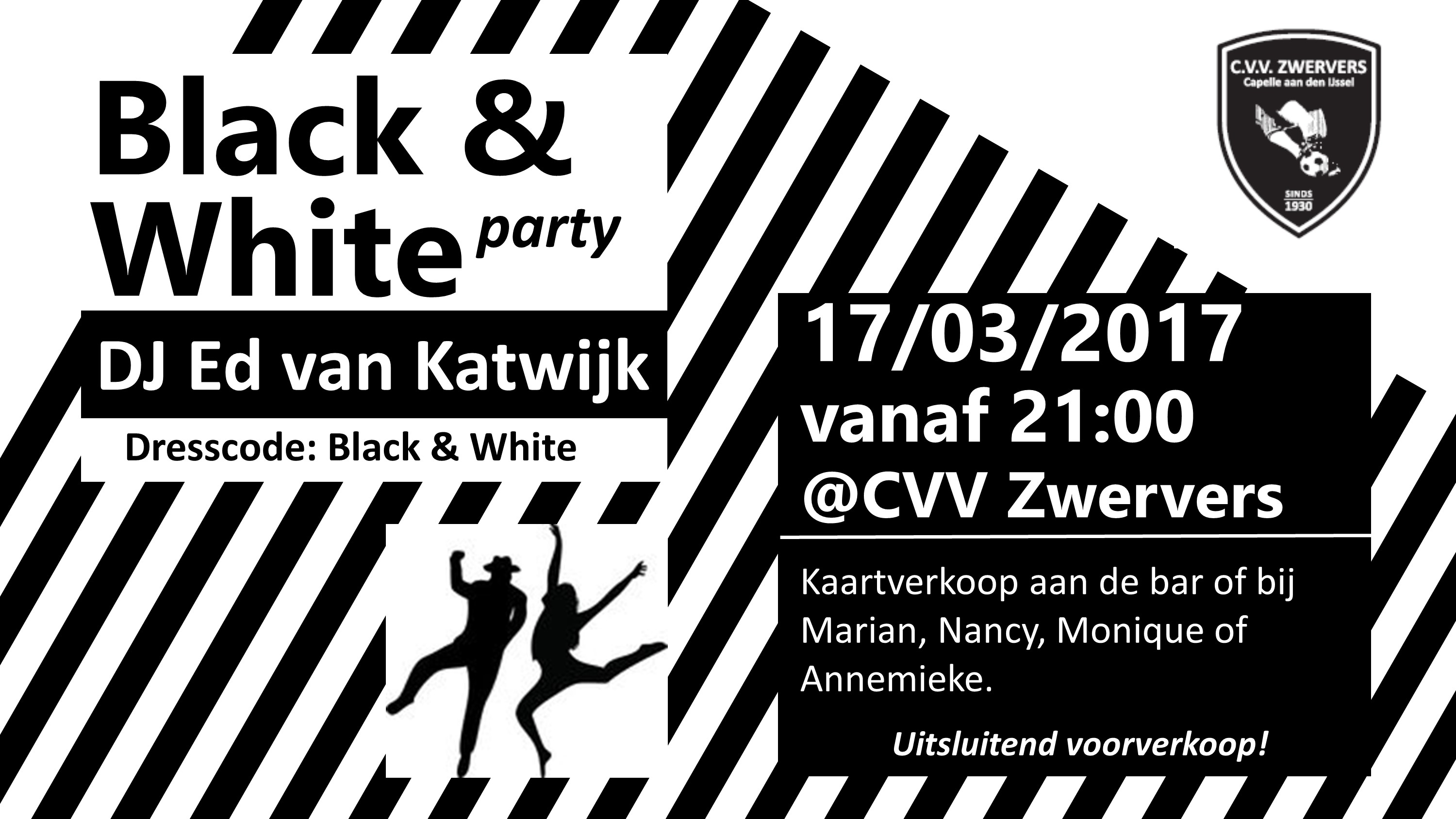 party bw